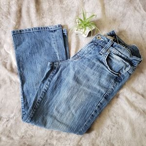 Lucky Brand cropped jeans. Size 25